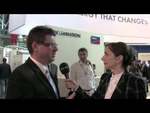 EU PVSEC 2012: SMA PV Diesel Hybrid Outlooks & International Developments
