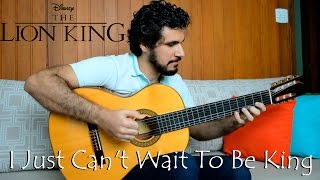 (Lion King) I Just Can´t Wait To Be King - Fingerstyle Guitar (Marcos Kaiser) #82 Resimi