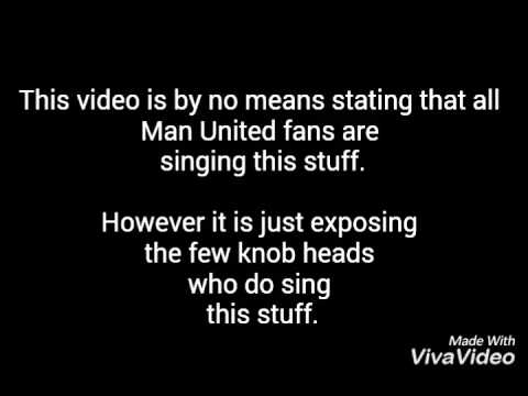Manchester United fans mock the death of Leeds and Liverpool fans