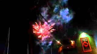 Fireworks filming on set of Safe Haven 7.27.12