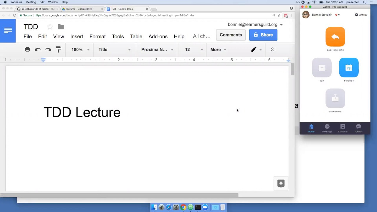 Lecture tdd test driven development 8292017 youtube lecture tdd test driven development 8292017 baditri Images