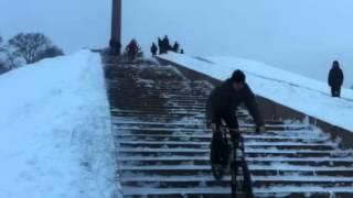 ВелоЭкстрим на Болдиной горе(Video uploaded from my mobile phone., 2013-01-22T08:46:01.000Z)