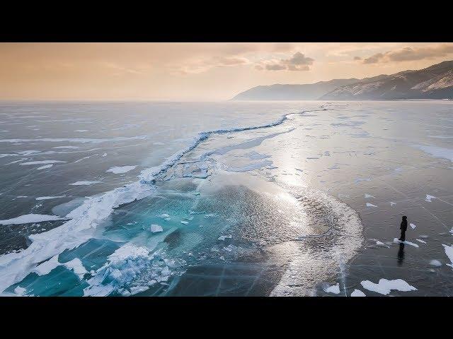 Байкальский лед на Mavic Pro