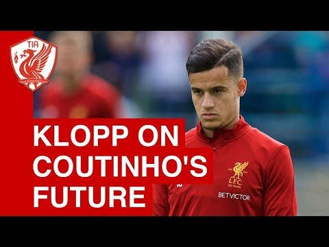 Jurgen Klopp updates on Philippe Coutinho situation