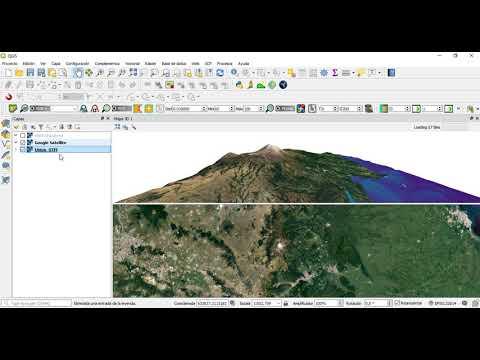 DEM y Modelo 3D en QGIS | Master SIG by MasterGIS