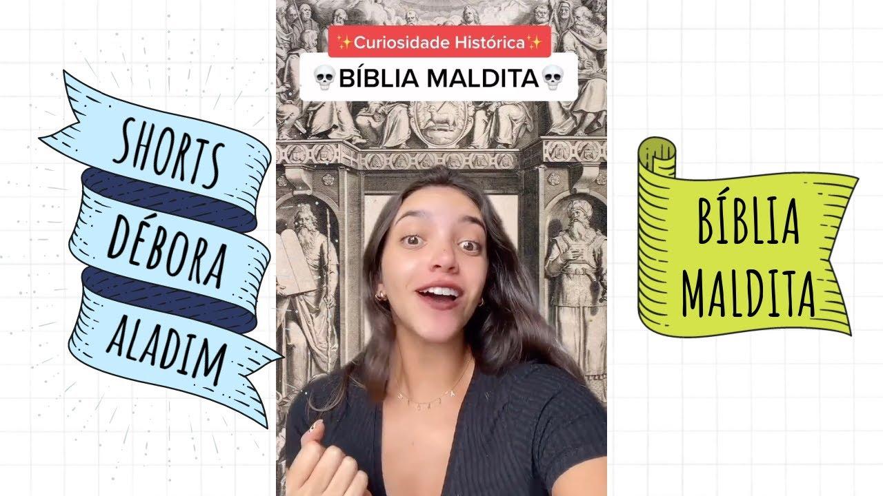 A BÍBLIA MALDITA: CURIOSIDADE HISTÓRICA 🔥🙏 #shorts
