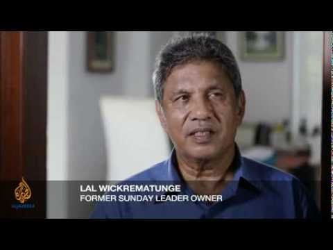 Chairman of sunday leader and brother of lasantha wickrematunge talks investigation and murder