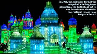 Snow and Ice Festival, Harbin, China - spectacle show