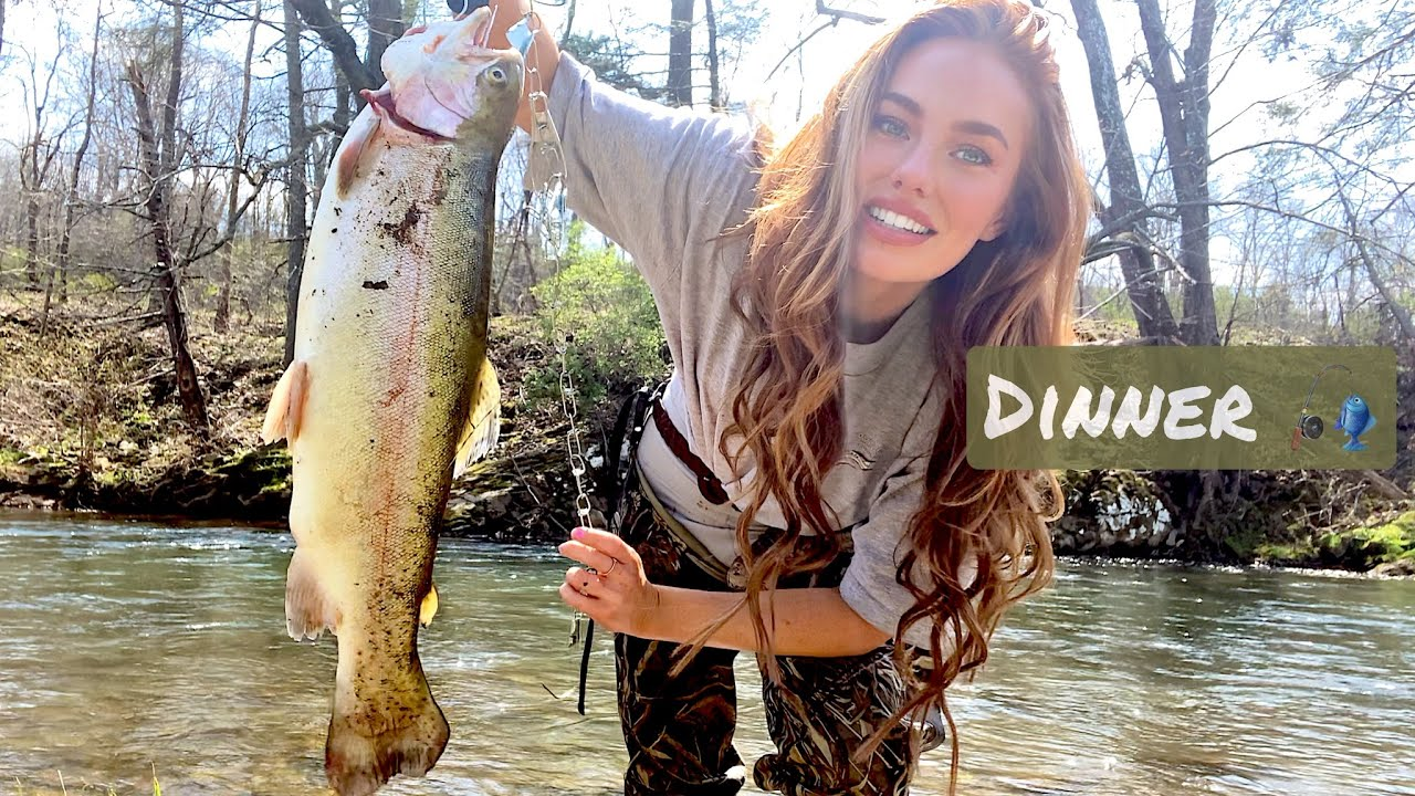 Download Fishing Cripple Creek - Rainbow Trout! (Catch Clean + Cook)