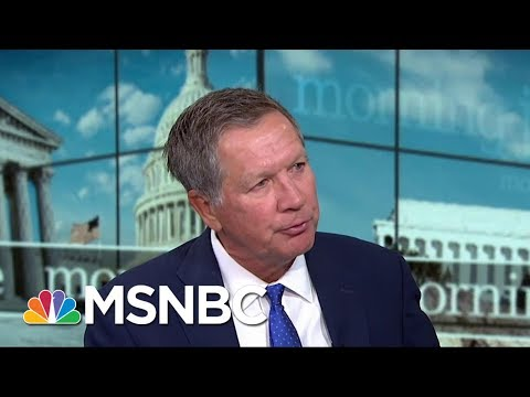 Governor John Kasich On Healthcare: I Think We Will Get Through This Period   Morning Joe   MSNBC