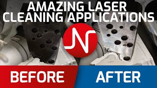 AMAZING LASER CLEANING one laser, many application. Made in EU, 4K VIDEO