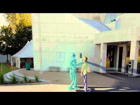 Museum tour guide robot.