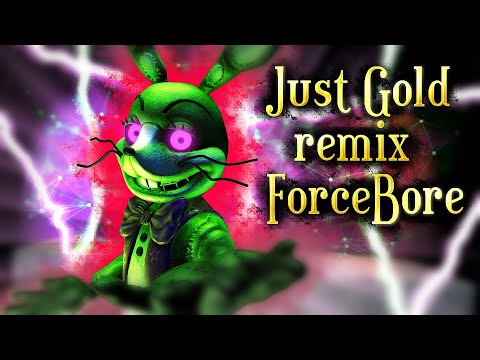 SFM/FNAF| Amusement For The Wicked | Just Gold Remix - ForceBore