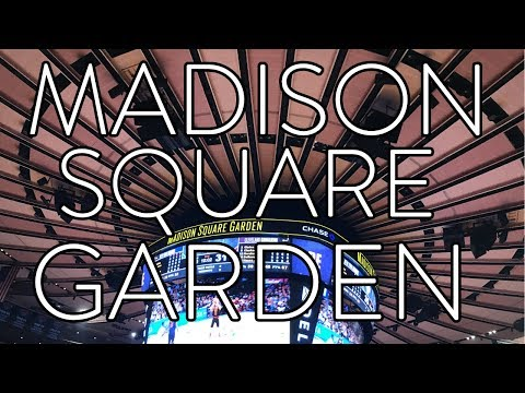 Madison Square Garden!  My First Knicks Game