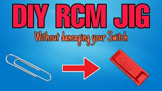 How to make an RCM JIG with household materials. NO DAMAGE TO YOUR SWITCH