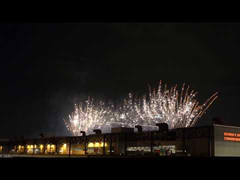 Superbowl 51 - NFL Live Closing Week Fireworks Display - Houston, TX (2/3/2017)