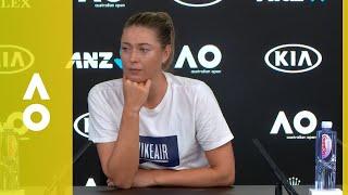 Maria Sharapova press conference (1R) | Australian Open 2018