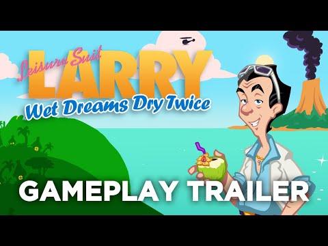 Leisure Suit Larry | Wet Dreams Dry Twice | Gameplay Trailer (EN)
