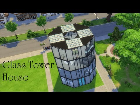 The Sims 4: Glass Tower House Build