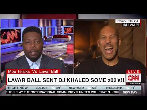 Lavar Ball Says he sent Dj Khaled z02s and he didn't say thanks !!!