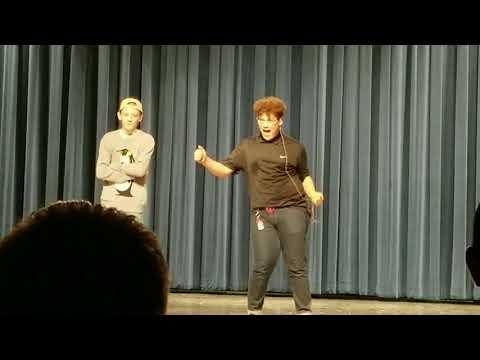 Gabe Talent Show- Left Brain Right Brain by Bo Burnham