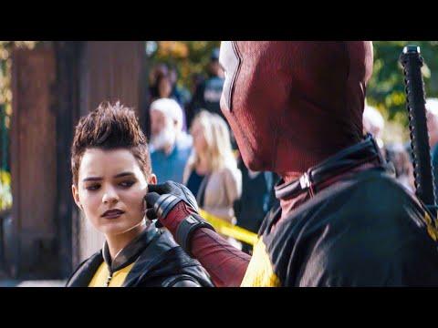 X-Men vs. Firefist Scene - DEADPOOl 2 (2018) Movie Clip