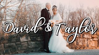 Congratulations David & Taylor !
