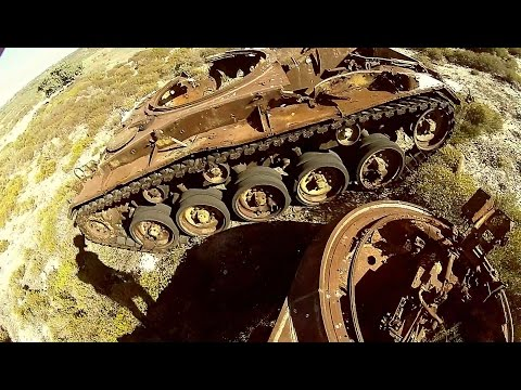 Destroyed tanks in Greece Kos - Kos 9