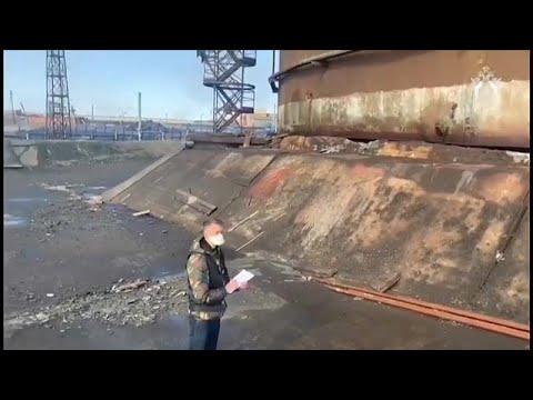 Экологическая катастрофа под Норильском