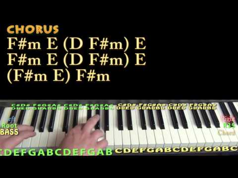 Lights Come On (Jason Aldean) Piano Lesson Chord Chart