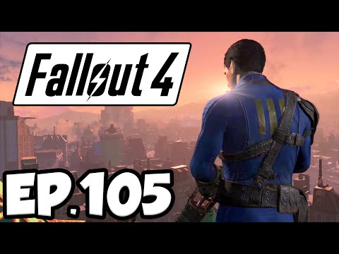 Fallout 4 Ep.105 - HARBOR GRAND HOTEL!!! (Far Harbor DLC Gameplay)