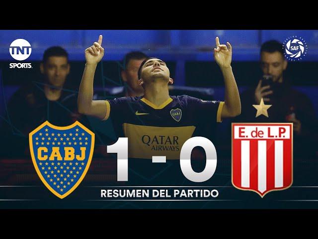 Resumen de Boca Juniors vs Estudiantes LP (1-0) | Fecha 6 - Superliga Argentina 2019/2020