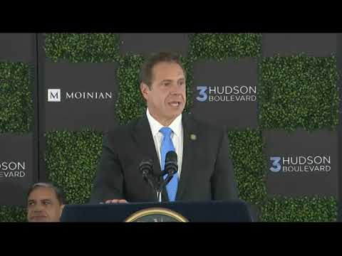 Governor Cuomo Announces Groundbreaking of 3 Hudson Boulevard