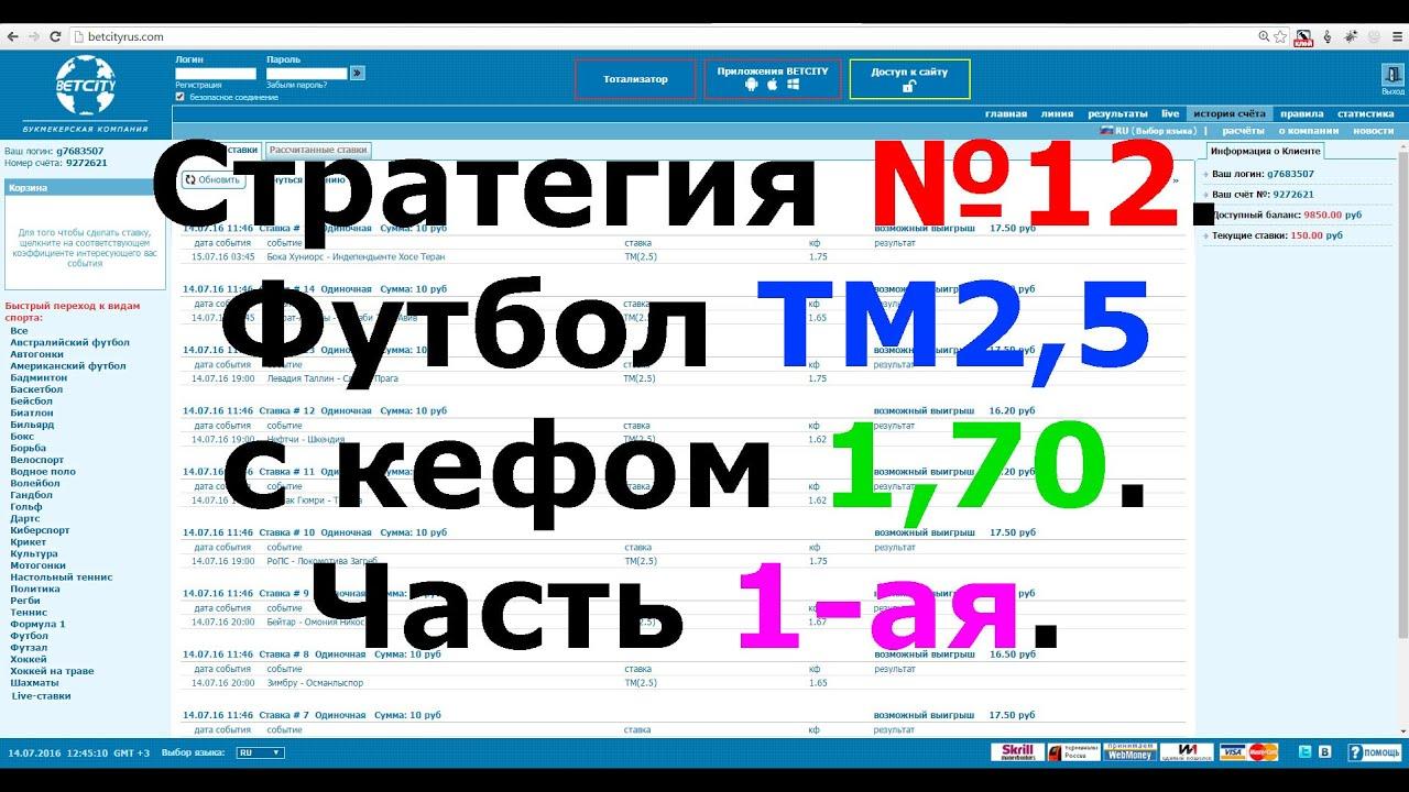 ТМ(1) — Тотал 1 меньше. Что это значит