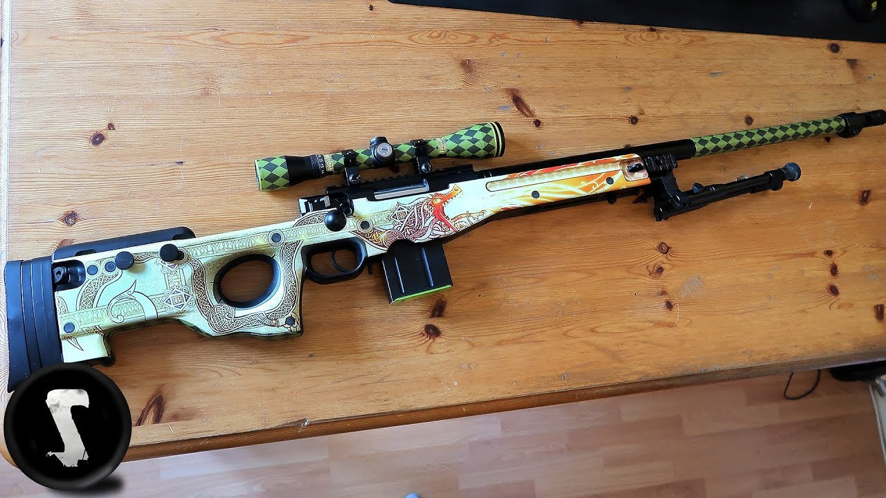 how to make an awp from wood