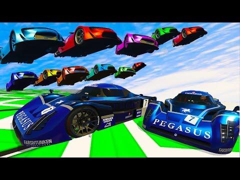 WORLDS BEST STUNT RACES From ROCKSTAR (GTA 5 Stunt Races)