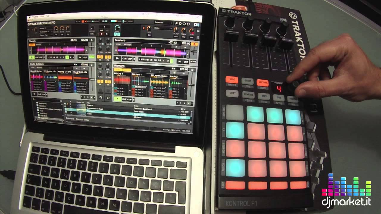 Traktor bible kontrol f1 effects.