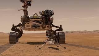 Первые дни Perseverance на Марсе