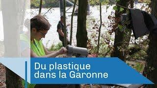 Du plastique dans la Garonne