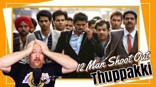Thuppakki 12 Men Shootout Scene REACTION