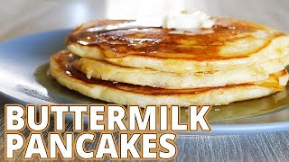 How-to Make Buttermilk Pancakes From Scratch (ep. 37 - Cheesy Does It Cooking)