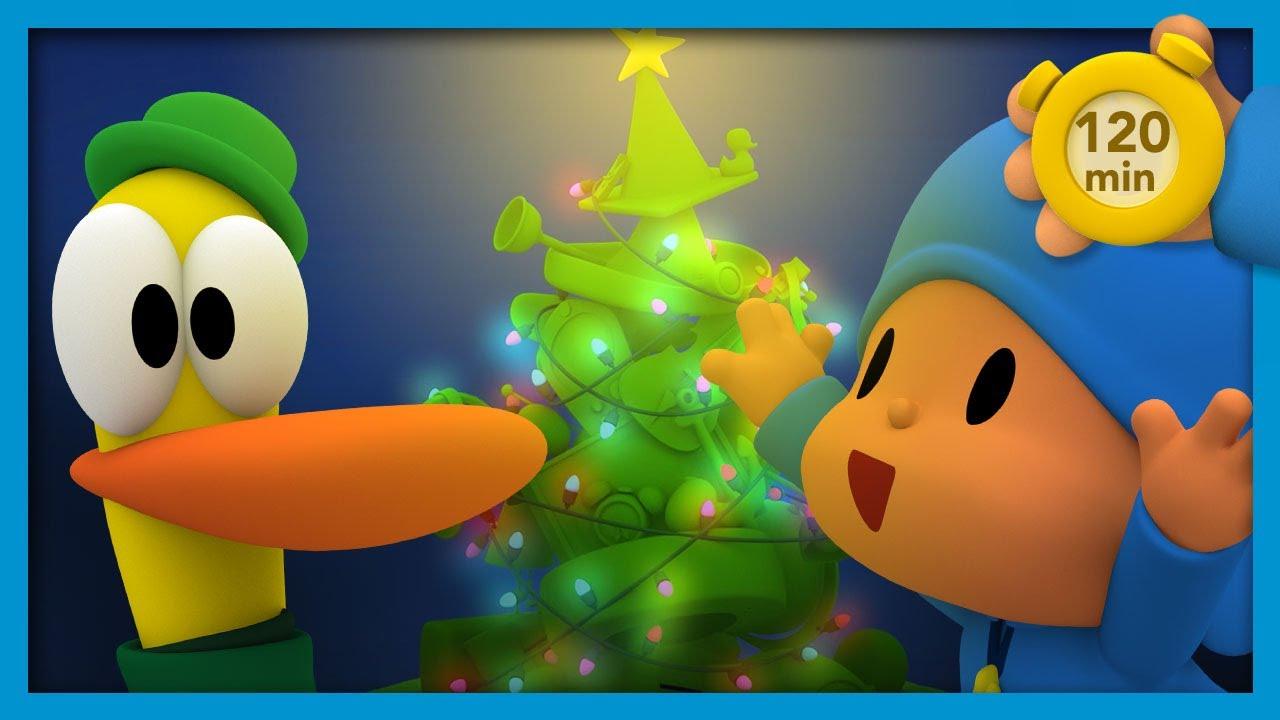 ? POCOYO E NINA - Árvore de Natal [120 minutos ]   DESENHOS ANIMADOS para crianças