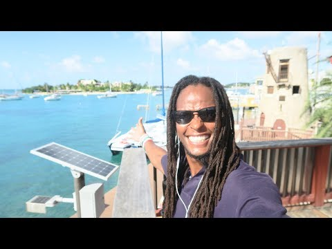 Hanging out in Christiansted