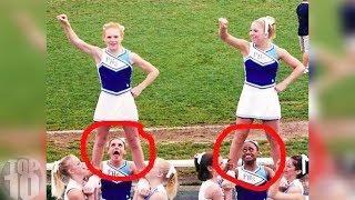 10 BIGGEST Cheerleading FAILS