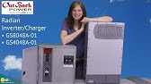 Tech Support   MATE3 Charger Set Points - YouTube