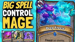 DEEP FREEZE FOR FREE!! Cheating Out BIG Spells in Control Mage! | Ashes of Outland | Hearthstone
