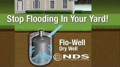 How to install NDS FloWell dry well drainage system