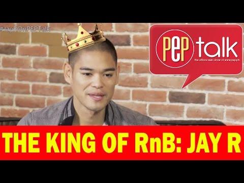 "PEPtalk. Jay R, on being named the King of RnB: ""Nakaka-pressure."""