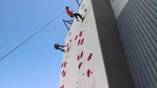 Joe Rocks and out-climbs pro Kevin Jorgeson on Reno Speed Wall