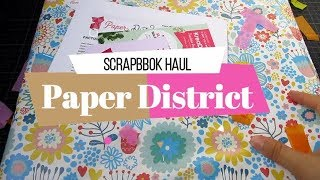 Compras Haul Scrapbook de Halloween | Paper district | Yoltzin Handmade
